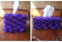 My Handmade Crochet / Sarung Bantal,Tempat Tissue, aneka crochet