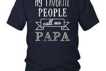 My Favorite People Call Me Papa Shirt Papa Tee Shirt