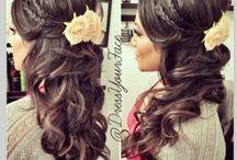 The Hair / Wedding Hair / by Melanie Lacroix