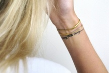 Tattoos / by Cassandra Hawke