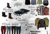 supernatural style / all about a spn girl