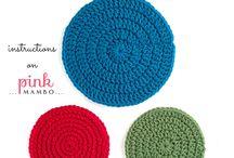 크로셰 뜨개질