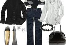 Fashion ~ Jeans (Black, White & Gray)