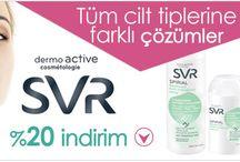 SVR Cilt Bakım ürünleri / SVR dermokozmetik cilt bakım ürünleri ile ilgili paylaşımlar, resimler, özellikler ve fiyatlar ile kullananlar için yorum ekleme sayfası.