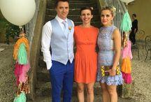 Exotic wedding / Flamingo beach & pineapple wedding un south of France