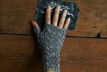 Knitted Wristers & Mitts