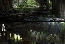 Environment Design / Environment | Concept art 2d/3D | digital art | digital painting