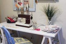 Home: Creating   Sewing room