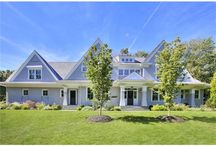 LISTED: 1461 Merwins Lane, Fairfield, CT / Incredible value on two acres in bucolic Greenfield Hill with a level of custom features that could not be replicated anywhere at this price! Spectacular, sun-filled 5,000 SF Nantucket-style home with designer appointments.