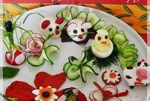 dekoracje z warzyw
