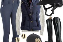 Horse riding OUTFITS and HAIRSTYLES