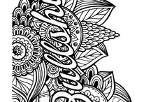 adult colouring in pages