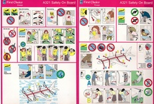 Airplane Safety Card