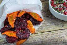 Чипсы овощные и фруктовые