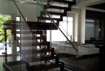 Open Stairs / Floating Open stairs built by Rize Stairs