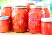 Canning, Freezing, Drying, From Scratch / by Joy Logan Burkhart