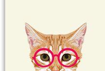 Produkte & Designs | Tiere / Für alle, die ihre Lieblinge mal etwas anders sehen wollen. Oder die jeden Morgen eine andere Katze auf ihrem Kaffeebecher brauchen. Haben wir!