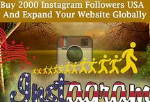 Buy Real instagram followers / To increase your profile ranking in search engine, buy 2000 instagram followers USA from Social Web Promoter. They help you to boost your real followers within a short period of time.