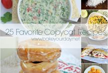 *Recipe Roundups* / Recipe roundups of all kinds from around the web!  / by Cassie Laemmli | Bake Your Day