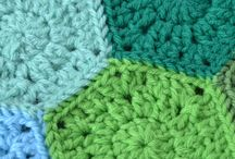 crochet hexagon