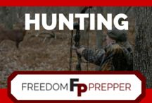 Hunting / Hunting Gear and Hunting Tips for Deer and other game, best skills for survival and for hunting game for meat. Deer processing tips, hunting weapons and top hunting skills. For best hunting guns and hunting rifles, hunting season facts and other hunting info, follow Freedom Prepper on Pinterest, Facebook and on our blog at freedomprepper.com