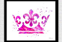 Adornos de princesas