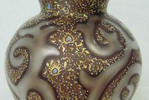 Vases, bowls, glassware etc