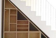 Espacio debajo la escalera
