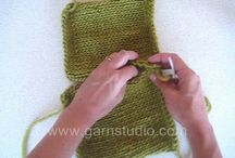Knitting video