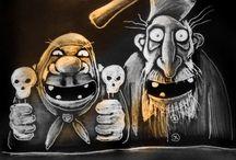 caricature & humor