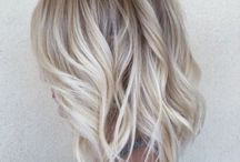 Cool blonde / Blonde hair with cool tones