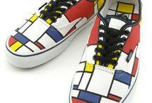 Mondrian Special : The Vanca Girl / Inspiration from Piet Mondrian & his iconic Geometric Art.