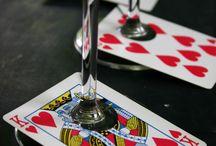 Poker / Casino night: Creative DIY Ideas