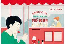The Parisianer / 100 illustrateurs ont été invités à exprimer leur vision de Paris sur la couverture d'un magazine imaginaire : The Parisianer. Découvrez quelques créations.