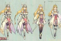 """Hyrule Warriors """"Queen"""" Zelda / by Sierra Hopson"""