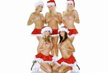 Suggestive & luscious Girls in Christmas Dresses / Steamy and smutty Christmas Girls