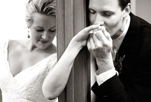 bride and groom not seeing each other