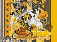 If I Were A Bee / Buzzzz....a lovely natural a textural type of kit perfect for...just about anything!