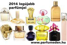2014 parfüm újdonságai