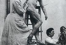 """Camille Claudel / Ses rares """"portraits"""" , ses lieux de vie, quelques-unes de ses oeuvres. Ici,tout est vérifié et épinglé avec certitude. Ne lui inventons pas des œuvres( 67 au total) ou des photos, sans vérifier nos sources..."""