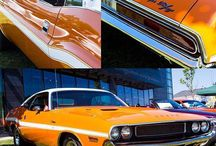 Sun-kissed Challenger. #DreamCruise - photo from dodgeofficial