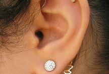 Mooie oorpiercings