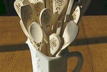 Wooden spoons / by Sandie Reed