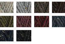 wool and acrilyc / filati utilizzati per le mie creazioni :)