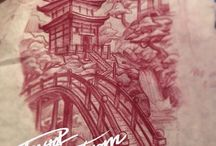 Japanse tekeningen