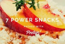 How We Snack / Here are some fun, creative, and healthy snacks to help you get through your days!