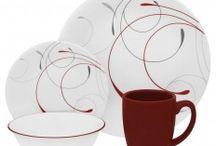 Corelle - servicii de masă & vase / Servicii de masă de la brandul american Corelle. Garanție. Rezistență la spargere.