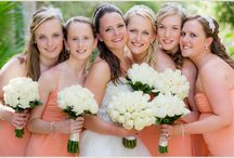 Barefoot Bridesmaids / Ideas, thoughts and you name it for bridesmaids attending a beach wedding.
