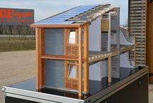 Mes Maquettes pédagogiques au 1:10e / Maquettes éducatives autour de la rénovation et transition énergétique