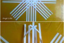 kağıttan ev dekorasyonlari